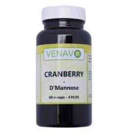 Cranberry + D Mannose 60 caps