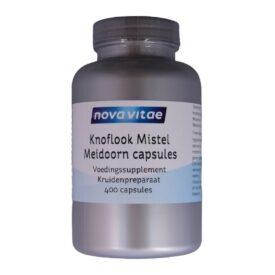 Knoflook Mistel Meidoorn 400 capsules