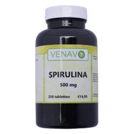 Spirulina 500 mg 250 tabletten