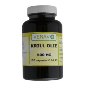 Krill olie 500 mg 180 capsules