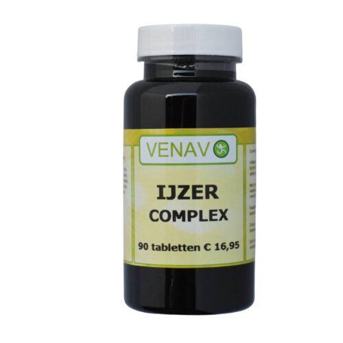 IJzer bisglycinaat Complex Venavo tabletten