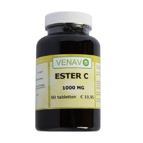 Ester C-1000 mg 90 tabletten gebufferde vitamine C